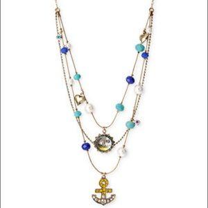Betsey Johnson Nautical Theme Necklace